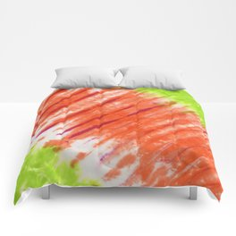 Pleated and Laced Comforters