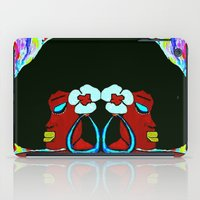 twins iPad Cases featuring Twins by Christa Bethune Smith