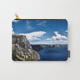 Cliff at Crater Lake - Oregon Carry-All Pouch