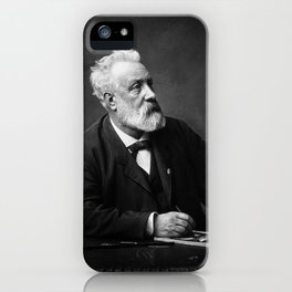 Jules Verne - Father of Science Fiction iPhone Case