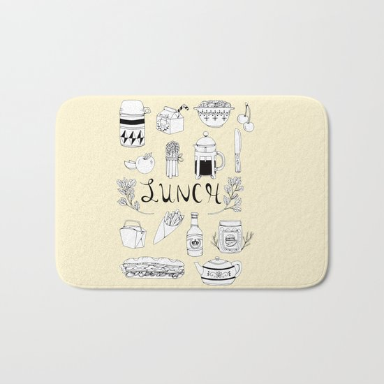 Lunch Bath Mat