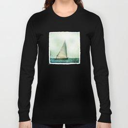 sailing cape cod seas Long Sleeve T-shirt