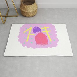 Lonely Girl Rug
