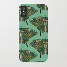 swallowtail butterfly emerald iPhone X Slim Case