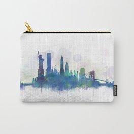NY New York City Skyline Carry-All Pouch