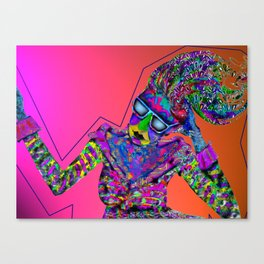 side to side Canvas Print
