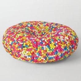 Round Sprinkles Floor Pillow