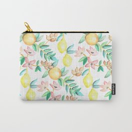 Flowers and Fruits Carry-All Pouch