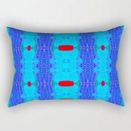 Marina II - Abstract Painting Rectangular Pillow
