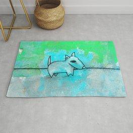 Dog No.1m by Kathy Morton Stanion Rug
