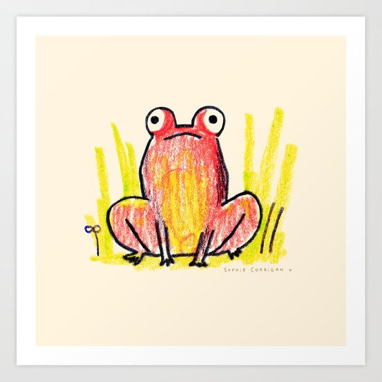 Red Frog by sophiecorrigan