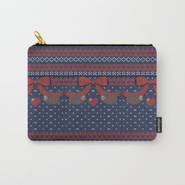 A Lazy Winter Sweater Carry-All Pouch