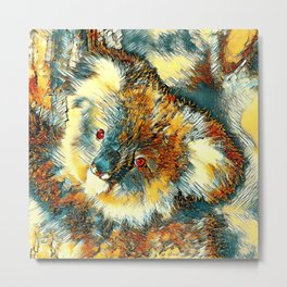 AnimalArt_Koala_20170602_by_JAMColorsSpecial Metal Print