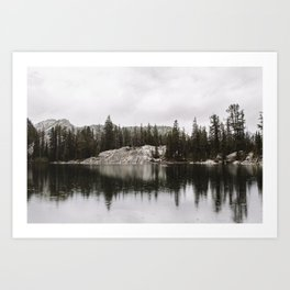 Colchuck Lake, Washington Art Print