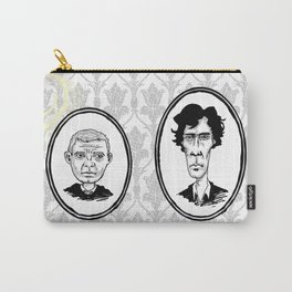 221B Baker Street - Sherlock and Watson Carry-All Pouch