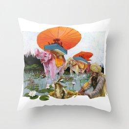 Adventure Throw Pillow