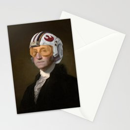 Rebel Allience General Washington Stationery Cards