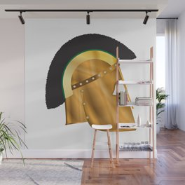 Roman Gladiator Helmet Wall Mural