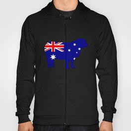 Australian Flag - Sheep Hoody