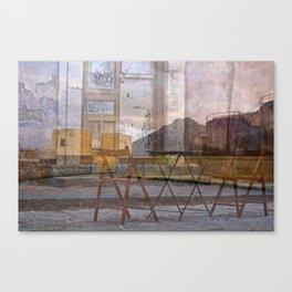 Zona abbandonata della Sicilia  Canvas Print
