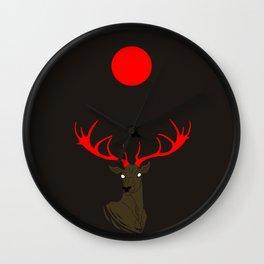 Abendrot Wall Clock