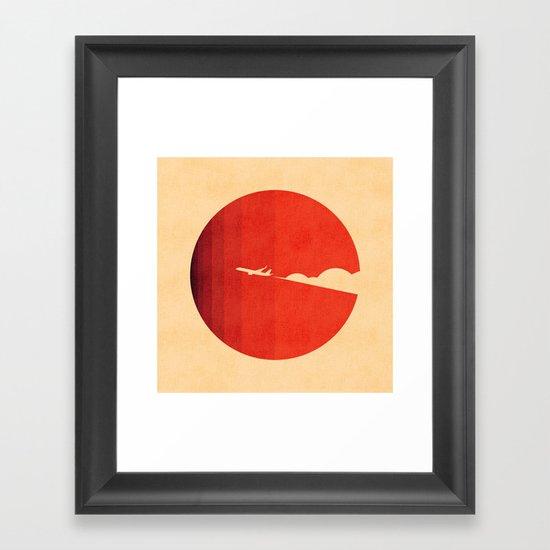 The long goodbye Framed Art Print
