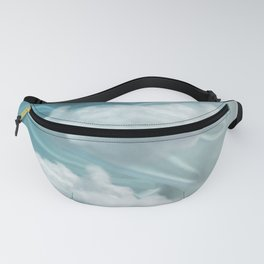 """Blue pastel sweet heaven and clouds"" Fanny Pack"