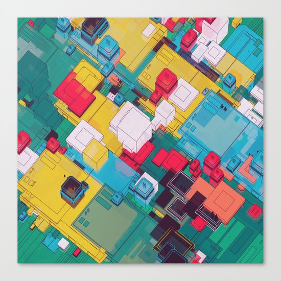 FLOOR 100 (09.30.15) Canvas Print