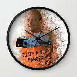 Korben Dallas Wall Clock