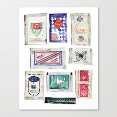 Sugar Collection Canvas Print
