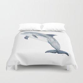 Bottlenose dolphin Duvet Cover