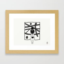 Magnifica #01 Framed Art Print