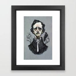 Mr. Poe  Framed Art Print