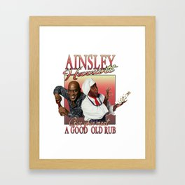 Ainsley Harriott Framed Art Print