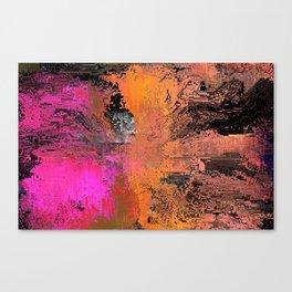 moshed Canvas Print