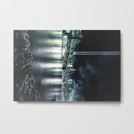 nyc skyline for 11 september Metal Print