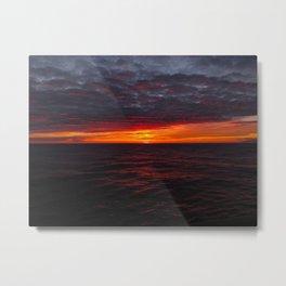 BC sunset Metal Print