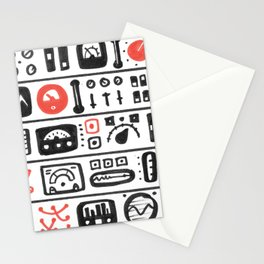 Mission Control Stationery Cards