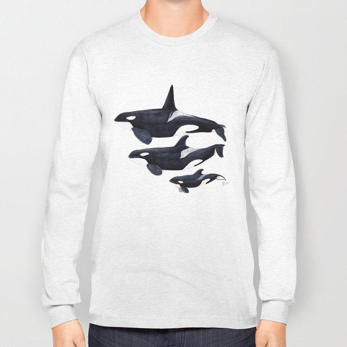 Orca (Orcinus orca) Long Sleeve T-shirt