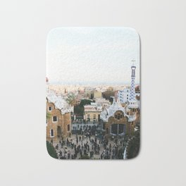 View from Park Güell Bath Mat