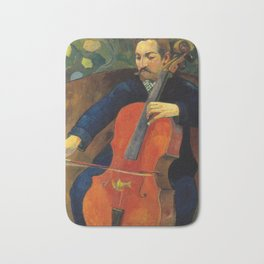 The Violoncellist Bath Mat
