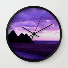 Three Cliffs Bay Wall Clock