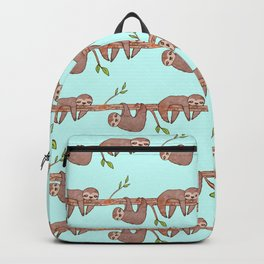 Lazy Baby Sloth Pattern Backpack