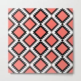 Aztec pattern 4 Metal Print