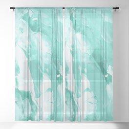 Abstract 1007 Sheer Curtain