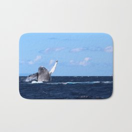 Humpback Breach 2 Bath Mat