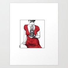 asc 165 - Le regard inversé (d'après zzitlali) Art Print