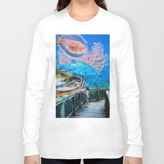 A Song I Heard the Ocean Sing Long Sleeve T-shirt