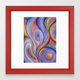 HOT Color blend Framed Art Print