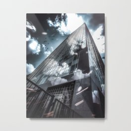Downtown Dallas Metal Print